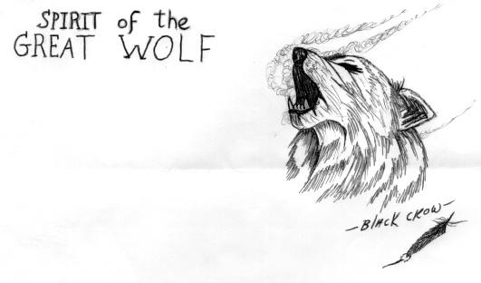 Wolves Drawings