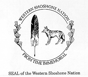 seal of the Western Shoshone Nation