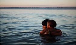Kamayura bathers
