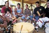 Mashpee drummers