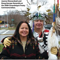photo of Joanne Shenandoah and Doug George-Kanentio